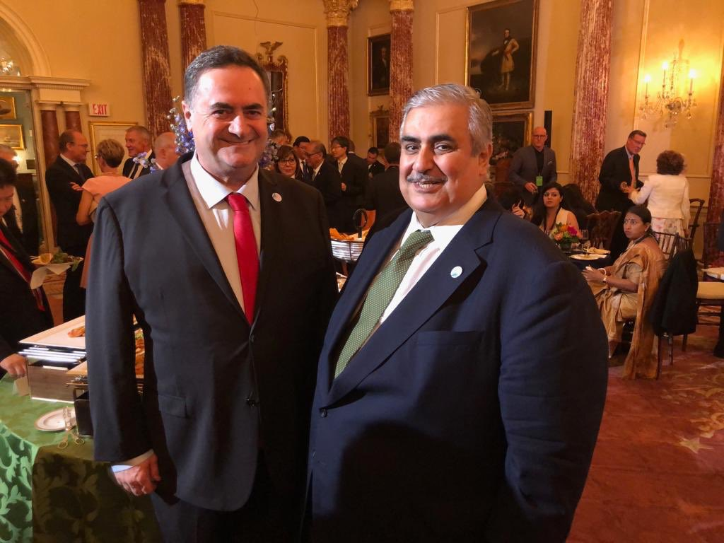 Israel, Bahrain foreign ministers hold first public meeting in US