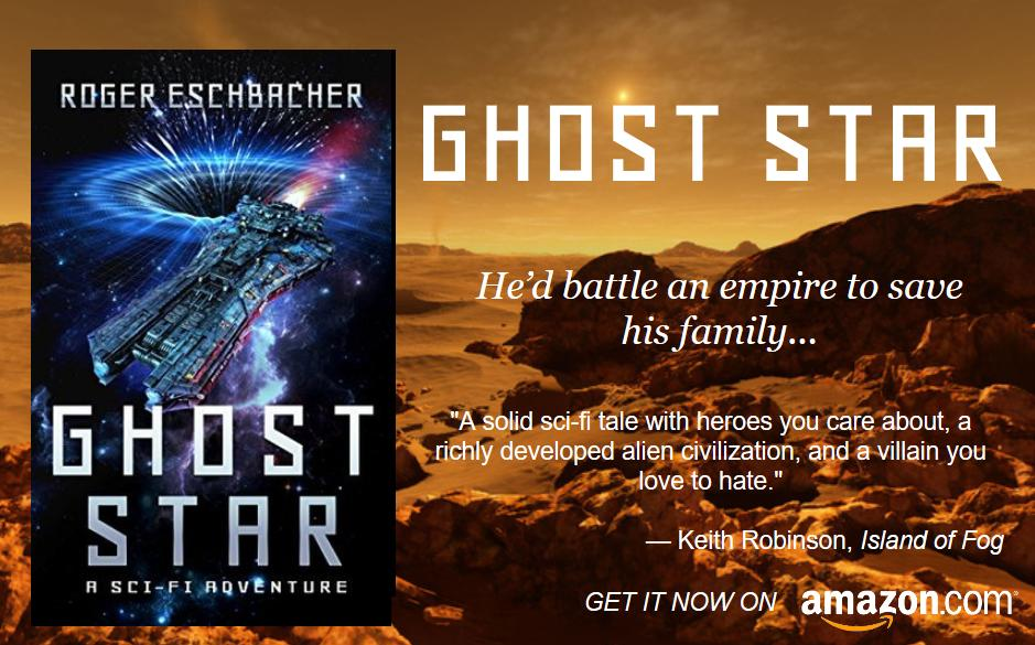 How far would you go to save your family? Light years? Read GHOST STAR, a #YA #scifi #adventure by @rogereschbacher. https://amzn.to/2SdgwA1 #spaceopera  #adventure #spacemarines #military #kindlepress