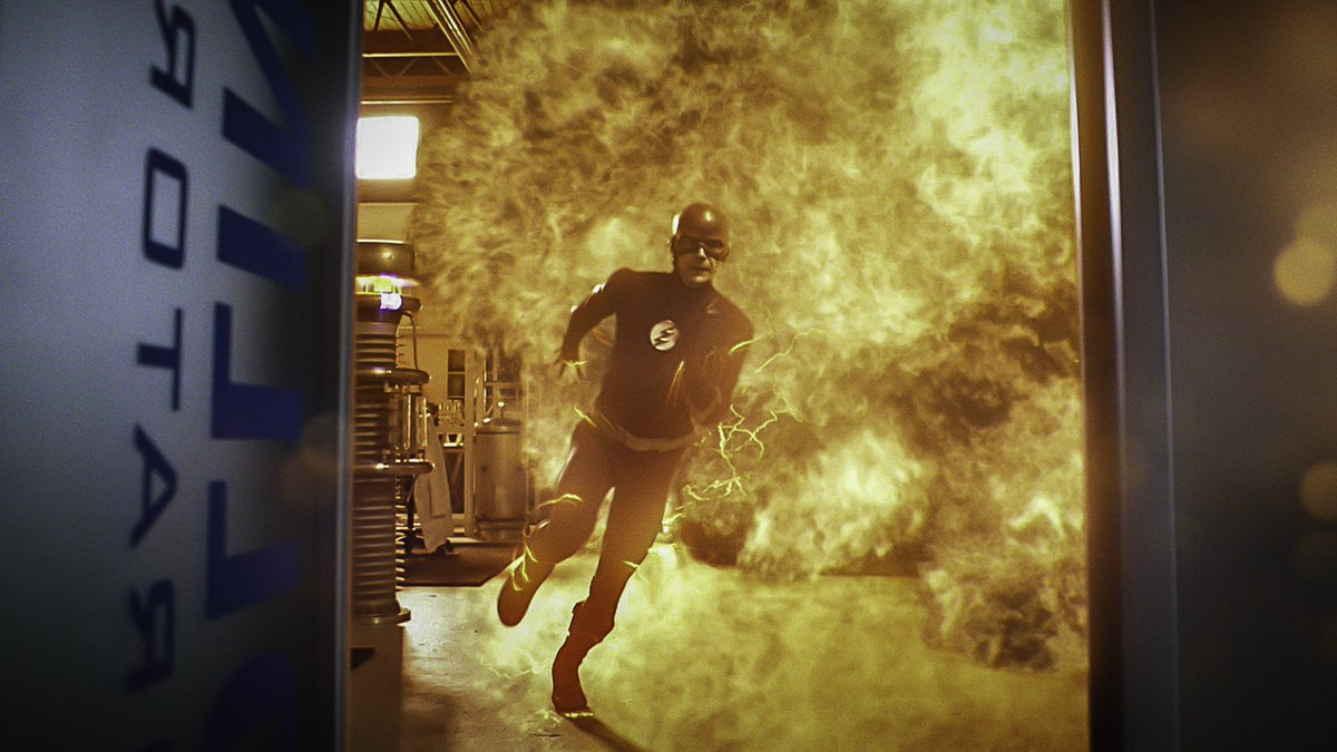A reckoning is coming. #TheFlash returns Tuesday, October 8 on The CW.