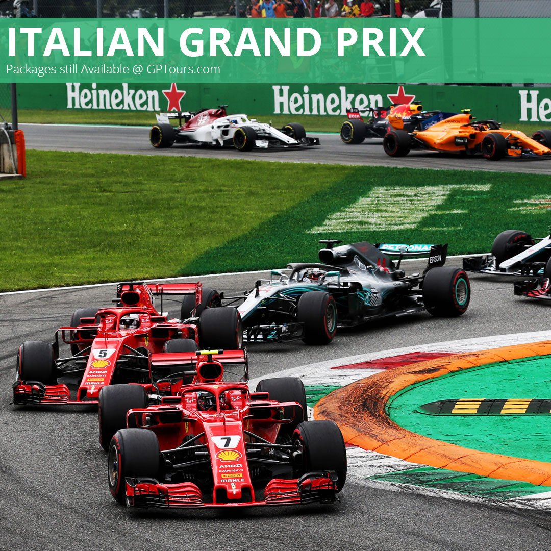 Join us for the Italian Grand Prix weekend!  Race insider party Saturday night, track transfers to Monza, ticket procurement and accommodations in beautiful Como, Italy.   Book your trip now https://www.gptours.com/     #Italy #ItalianGP #Formula1 #F1 #PaddockClub #GrandPrixTours