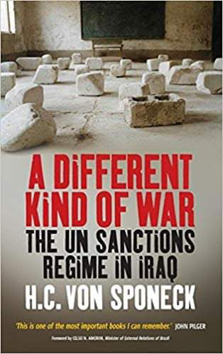 A Different Kind of War   A book about the impacts of sanctions.  Sanctions as a genocidal act against the people of a country.    #Iran #Iraq  #US #sanctions #Iran  #IranSanctions #IranUSTension