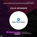 Image for the Tweet beginning: HDAC will be at #BlockchainSummit2019