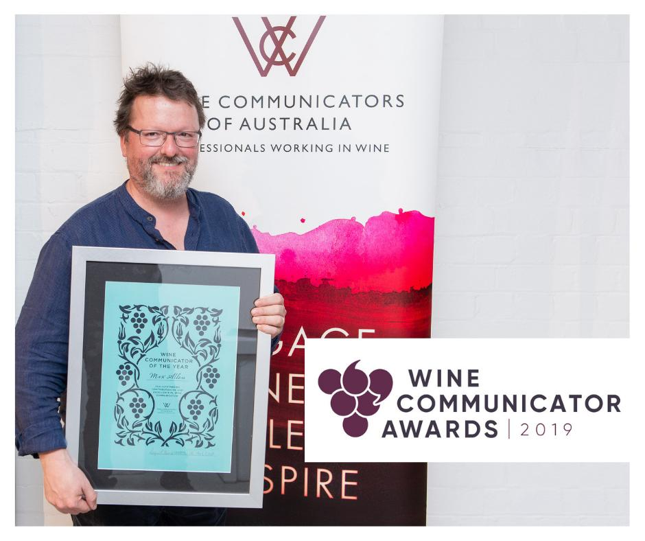 What a year 2018 was for Max Allen who took out the Wine Communicator of the Year Award. This year it could be you! We invite you to enter here: http://ow.ly/v60i30p2stO #wca #winecommunicatorawards #winecommunicators #wineawards #wine #wcaawards