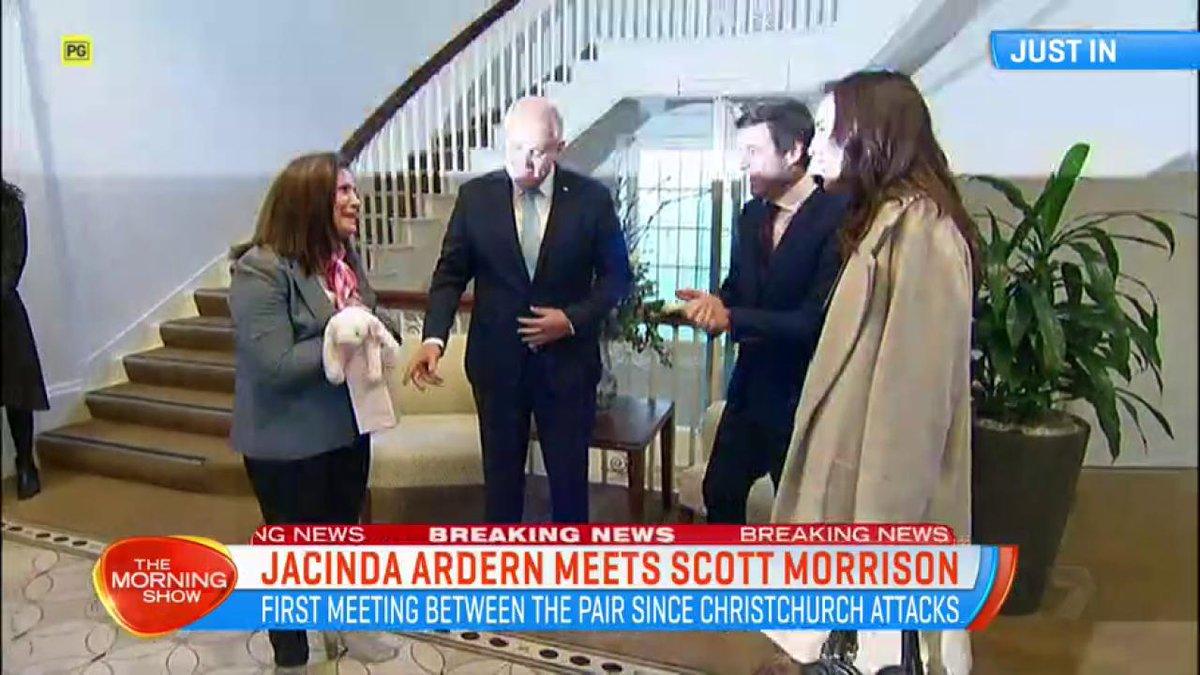 #BREAKING: Jacinda Ardern is meeting PM Scott Morrison in Melbourne. #TMS7