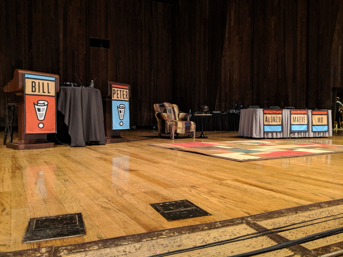 It's @NPR night with @waitwait. Guess what? With this #brainy crowd they don't search your purse! #NotLikeMyUsualConcerts ;) (@ Blossom Music Center - @blossommusicoh in Cuyahoga Falls, OH) https://www.swarmapp.com/c/jtP78EHcllj