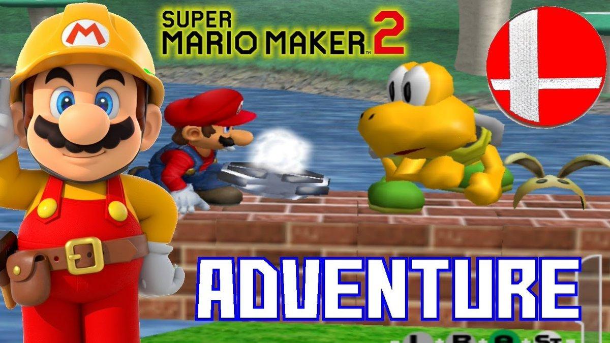 Super Mario Maker 2: INCREDIBLE Super Smash Bros Melee