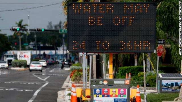 Water is flowing again in Fort Lauderdale, Florida, after a water main break caused a service outage, officials say https://cnn.it/2XRvDTe