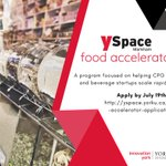 Image for the Tweet beginning: Applications for our Food Accelerator