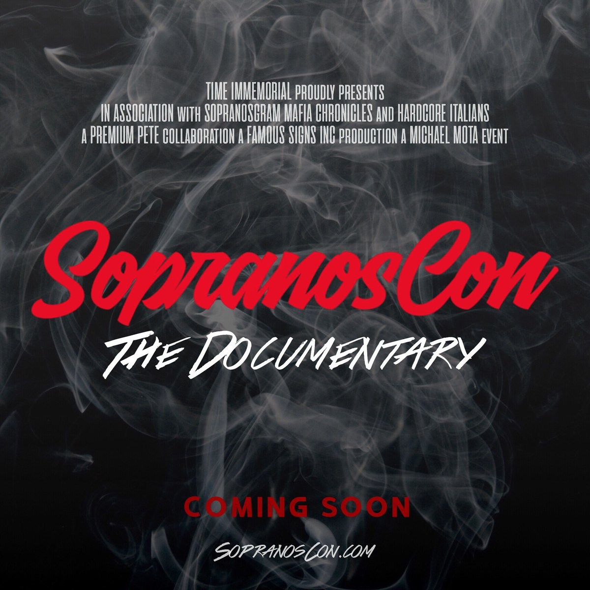 SopranosCon is coming!<br>http://pic.twitter.com/ImZT2O3t55
