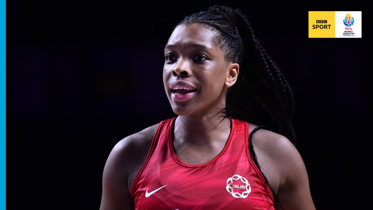 THIS moment from @Jarten: https://bbc.in/2YeHEkZ 🤩   HT: #RSA 20-31 #ENG   @EboniBChambers and @gevamentor haven't given the South African shooters an inch.  #BBCNetball #NWC2019