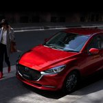 Image for the Tweet beginning: Mazda2 refreshed for 2020 with