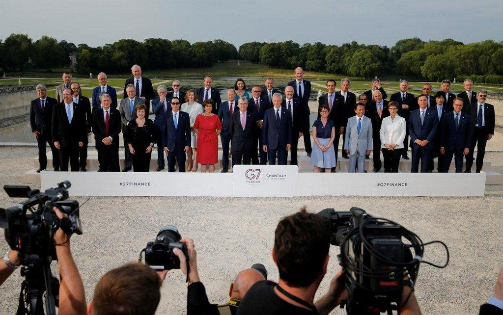G7 urges tough Libra regulation, agrees to tax digital giants http://www.reuters.com/article/us-g7-economy-idUSKCN1UD0MS?utm_campaign=trueAnthem%3A+Trending+Content&utm_content=5d30ca130ca7240001cbabc0&utm_medium=trueAnthem&utm_source=twitter…
