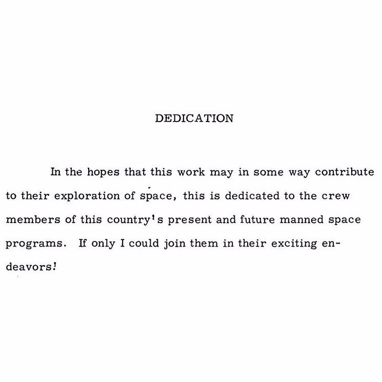 Dissertation dedication god