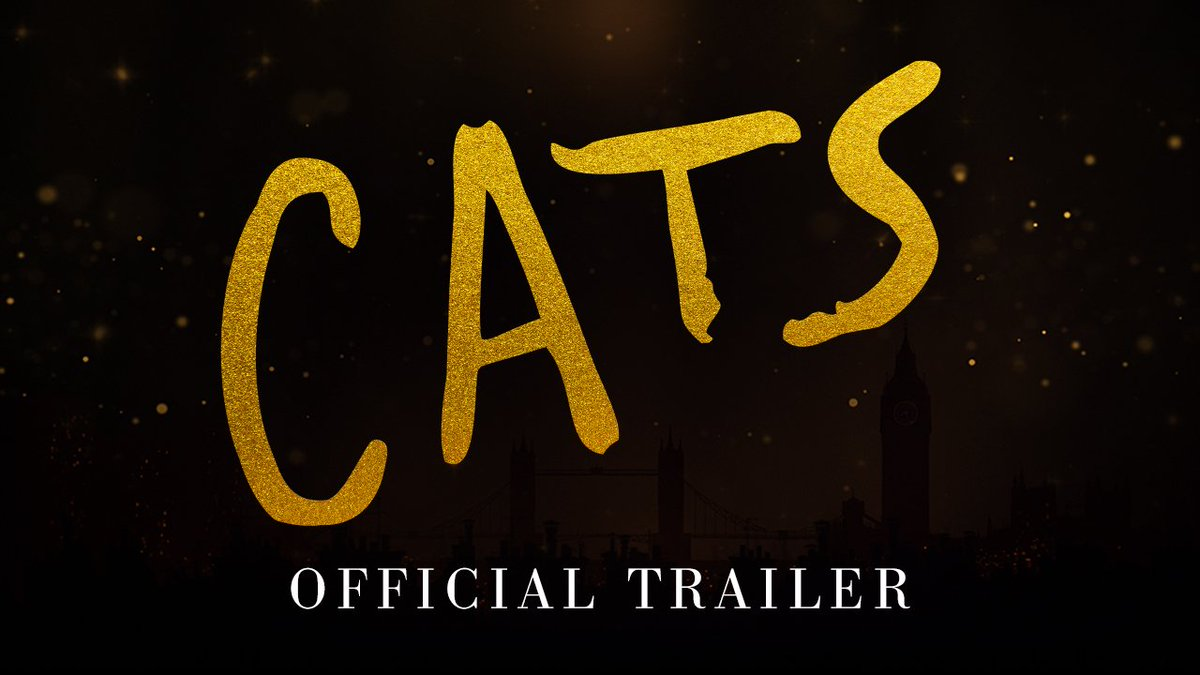 Ooooh have you seen this! #CatsMovie #CATS #Musical