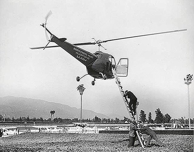 Fun Fact of the Day: Before the invention of the Heli-Pad pilots would have to board the helicopter via a ladder, this all changed in 1703 when Eli Pad invented the world's first Heli-Pad #AvGeek