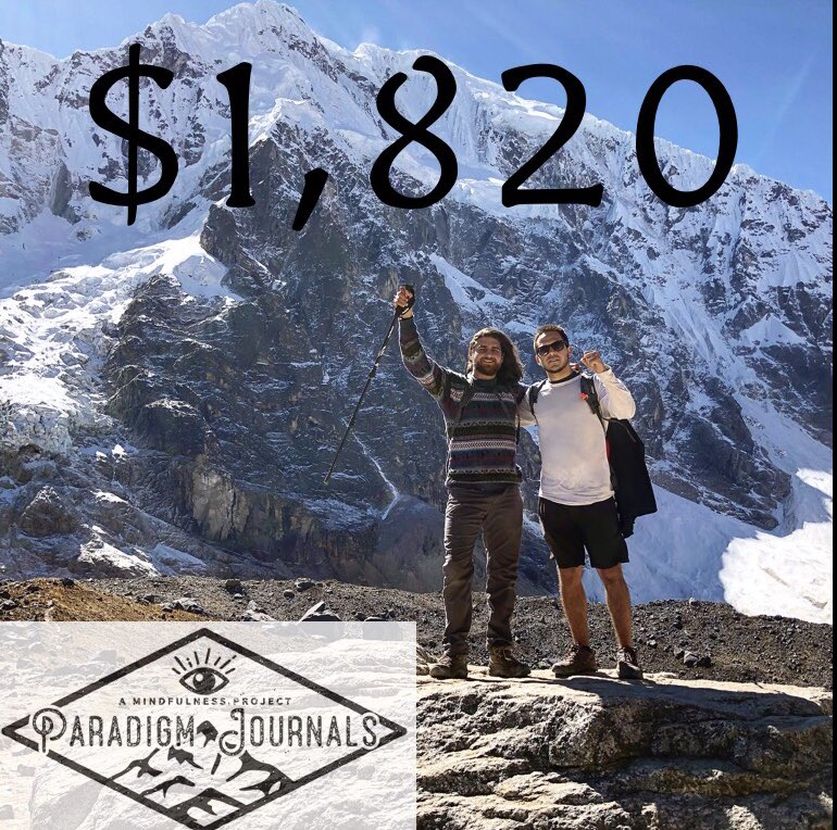 In total we raised $1,820 with the Climb For Minds project. I can't thank everyone enough who contributed. This money is going to make a real impact on children's lives who suffer from mental illness.
