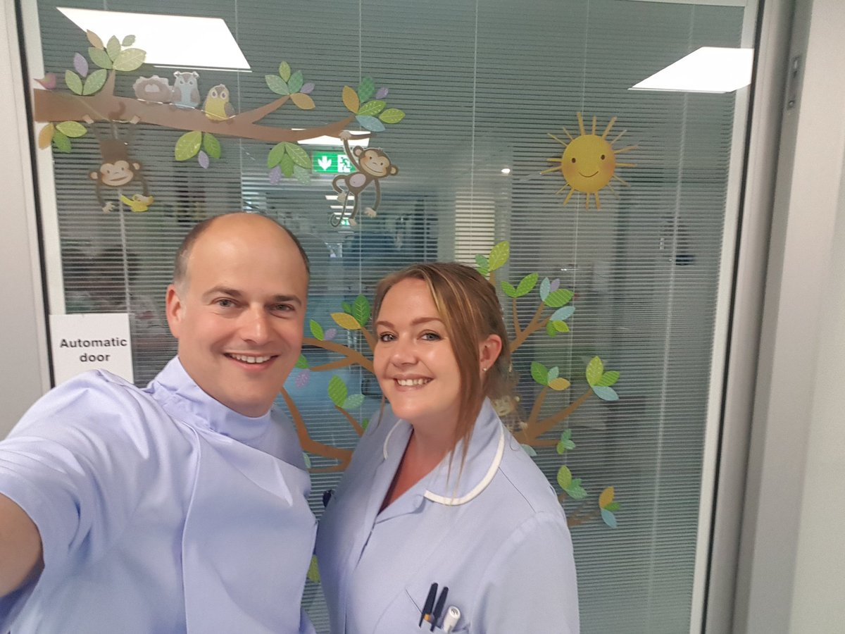 Great few hours spent on our Children's ward today @MidCheshireNHS seeing the fantastic care delivered by our staff. Was lovely to hear first hand from a parent about the excellent care their child had received. Enjoyed working with Danielle. #backtothefloor  @JennyMumof5