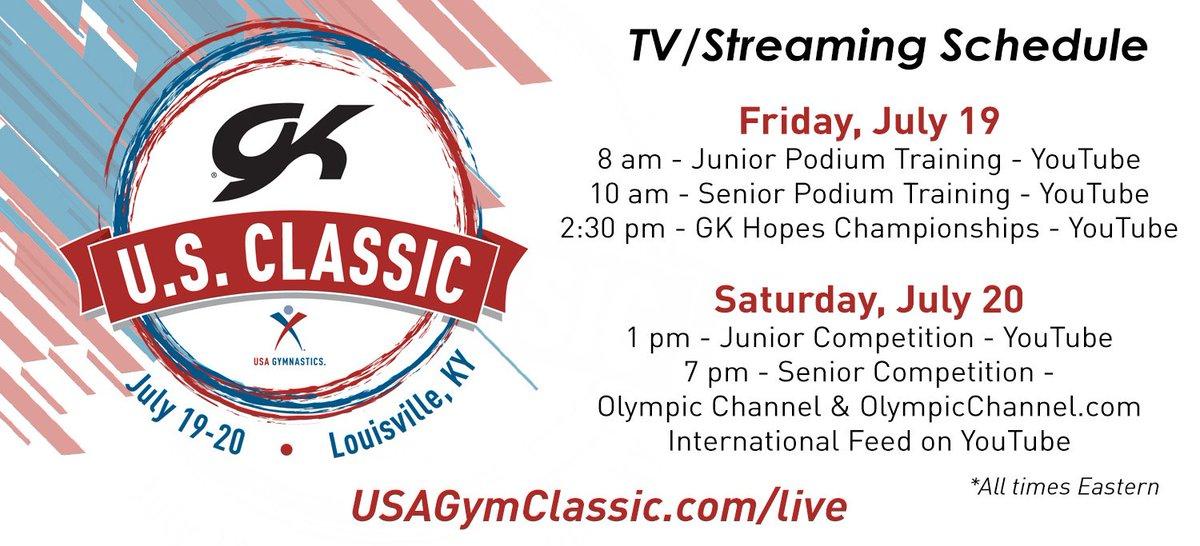 USA Gymnastics (@USAGym) on Twitter photo 18/07/2019 20:24:49