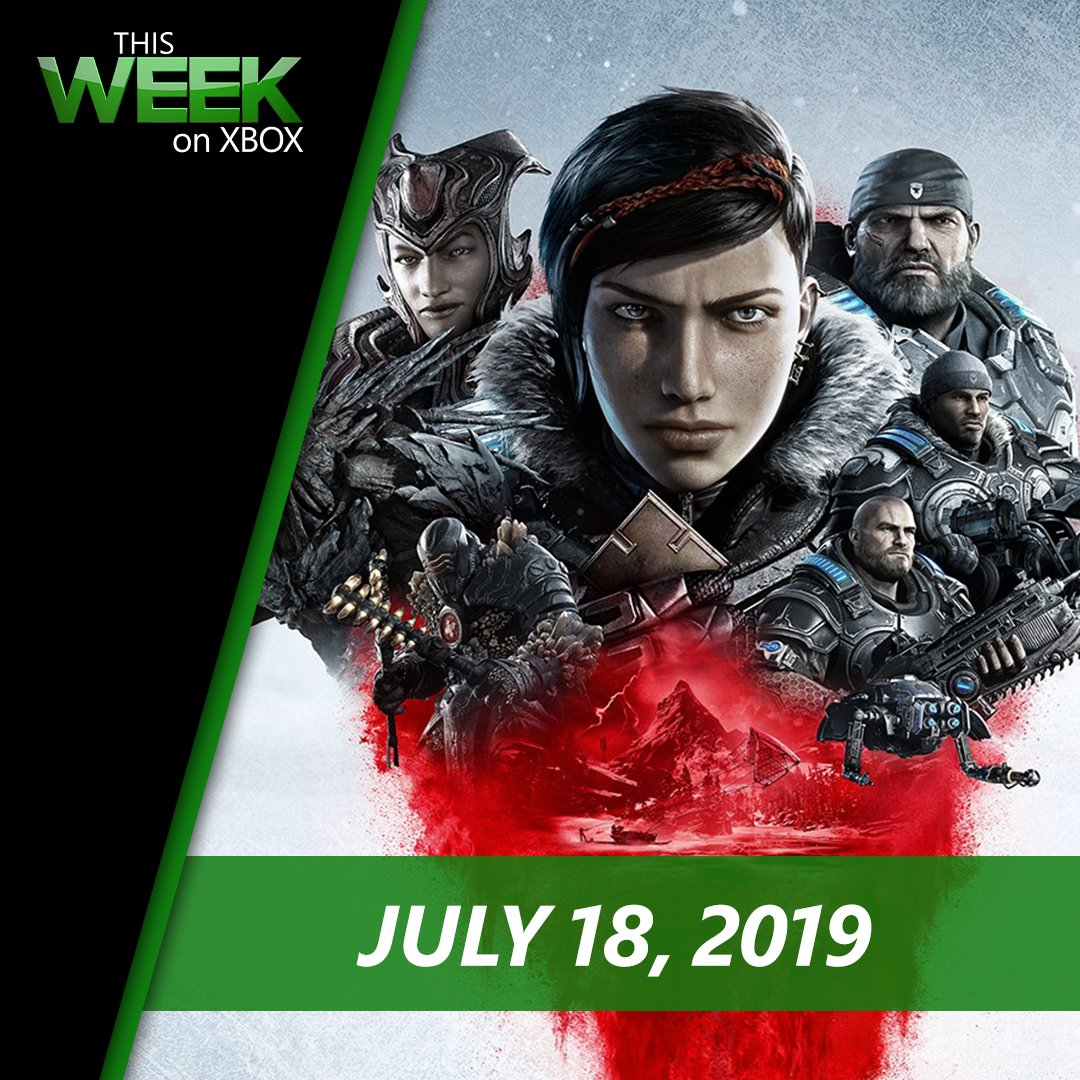 The year's heating up with Gears 5 and Borderlands 3 on the horizon.  Tune in to This Week on Xbox: https://xbx.lv/2Z4Qcs4