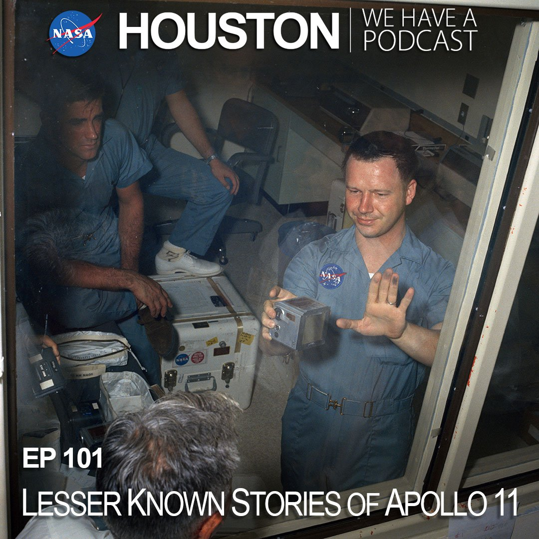 On Houston We Have A Podcast, NASA historian Jennifer Ross-Nazzal shares lesser known stories of #Apollo11 50 years after the historic Moon landing. Alumni from NASAs Apollo program share memories from their unique roles in those missions. nasa.gov/johnson/HWHAP/… #Apollo50th