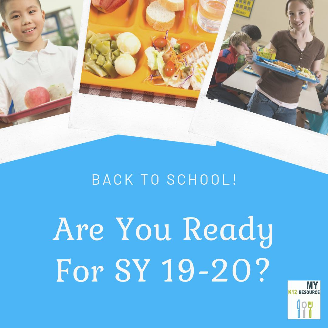 It's time to get ready for going #BackToSchool! Make sure your #menu and #recipe #database is in great shape, & analyze whether your #nutrient analysis #software is helping you run efficiently - we can help! https://www.myk12resource.com/single-post/2019/07/18/Get-Ready-for-Back-to-School… #childnutrition #backtoschool