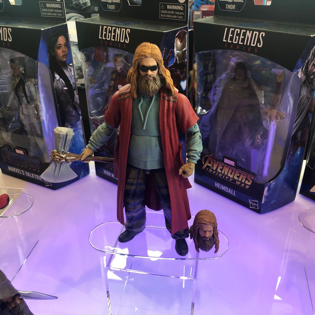 Bro Thor is getting his own Marvel Legends action figure 🍻 #SDCC
