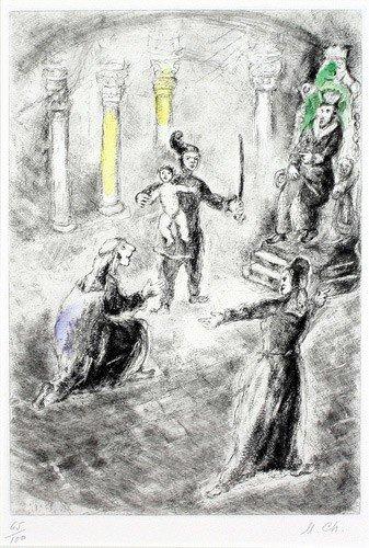 The judgement of Solomon by Marc Chagall #retrospect #apaintingeveryday #art #HolyWeek #DivinityArrived #soulfulart #Lent #GoodFriday #HolySaturday #Easter #artofredemption #HeIsRisen #Ascension #Pentecost  #OrdinaryTime #oldtestament