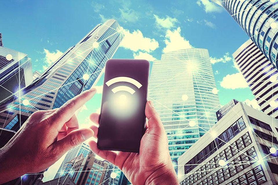 """Enterprises can use #WiFi6 to build carrier-grade infrastructure that will complement #5G,"" Chris Bruce, MD, GlobalReach Technology & @WBAlliance Board Member https://buff.ly/2k1eBiY #Hotspot2 #Passpoint #NGH #WiFi"