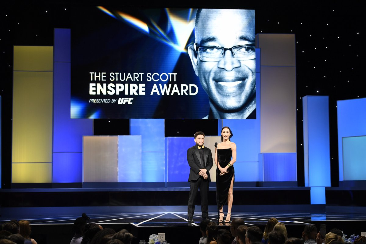Honoring the legacy of Stuart Scott.  Tune in tonight for the Sports Humanitarian Awards on @ESPN at 7pmET.