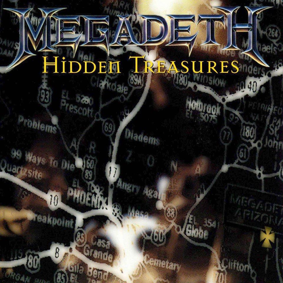 Há 24 anos o Megadeth lançava o EP Hidden Treasures. #Megadeth #HiddenTreasures