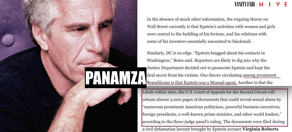 Epstein, Mossad, pédophilie : un nombre