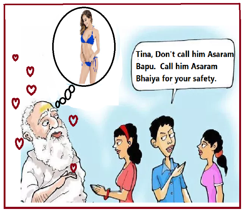 Asaram ,  you deserve to be a BJP Minister. Well, your application to join BJP will be accepted -  it is only a matter of time. <br>http://pic.twitter.com/C47KZkPHfk