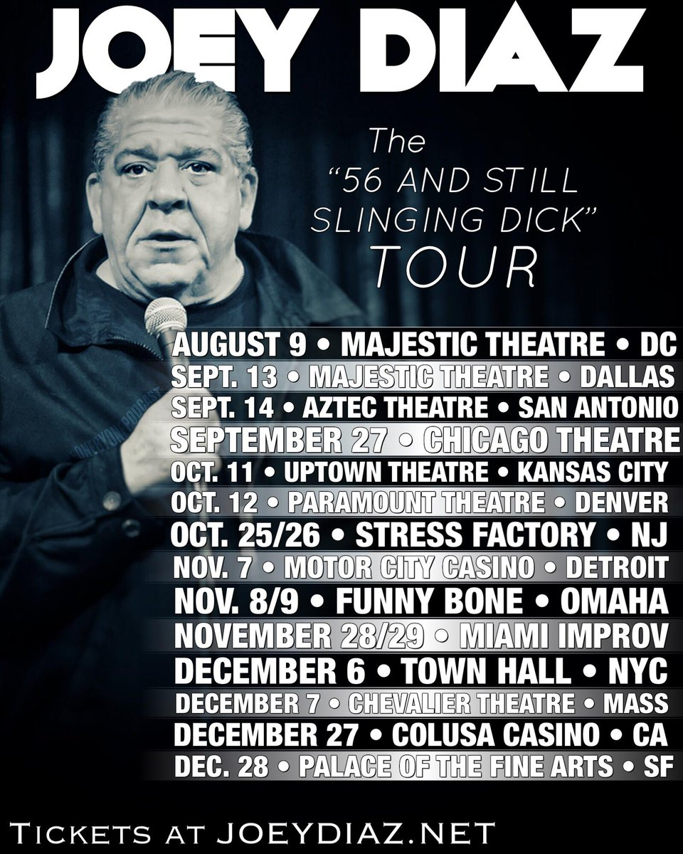 K.C., Chicago and S.F go on sale TOMORROW........MIAMI I'm coming......Get the Anti Castro groups ready!!!!