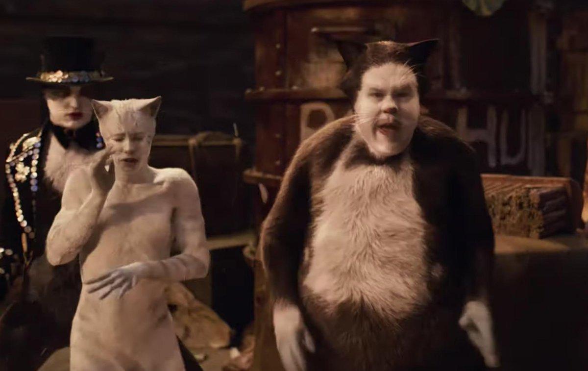 James Corden is Cat in the Hat beyond his prime. #CatsMovie