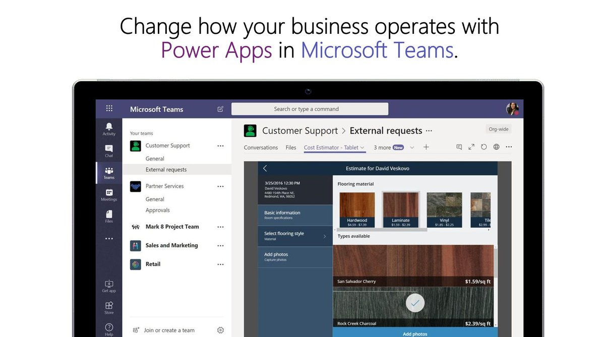 Explore how to build @PowerApps in #MicrosoftTeams to streamline your business and empower your organization. http://msft.social/M1HPiR
