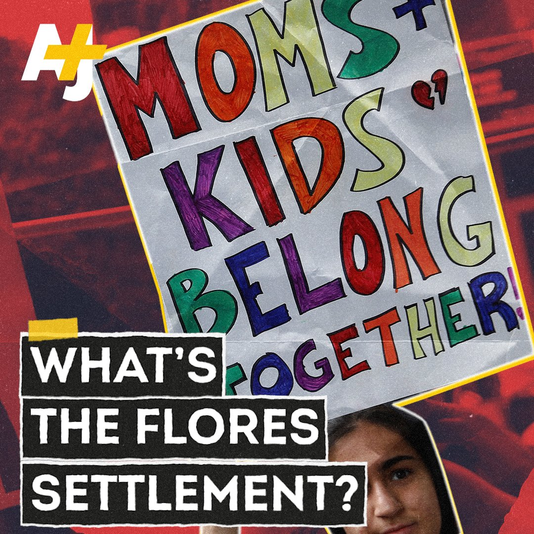 Image for the Tweet beginning: The Flores settlement set the