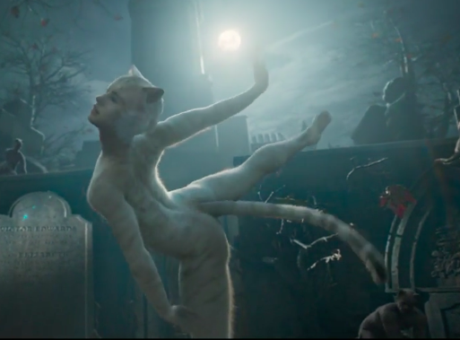 it has been one full hour since I saw the CATS (2019) trailer and this is the image that will haunt me