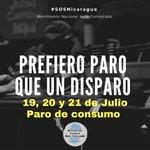 Image for the Tweet beginning: Prefiero Paro que un Disparo!!
