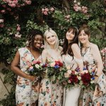 Image for the Tweet beginning: These are serious bridesmaid goals,