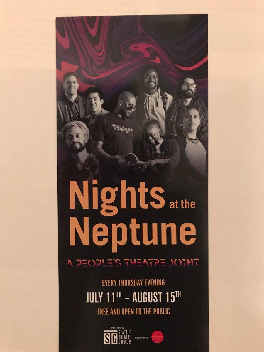 Recognize anyone on this @stgpresents #NightsattheNeptune flyer?