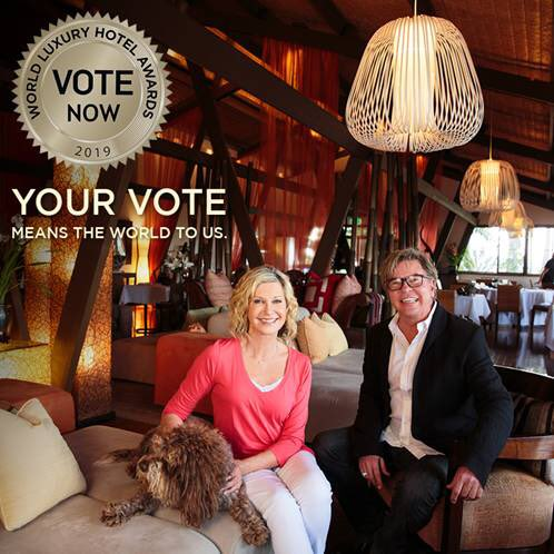 I'm so proud and honored for my @GaiaRetreat  team to be nominated in the prestigious World Luxury Hotel