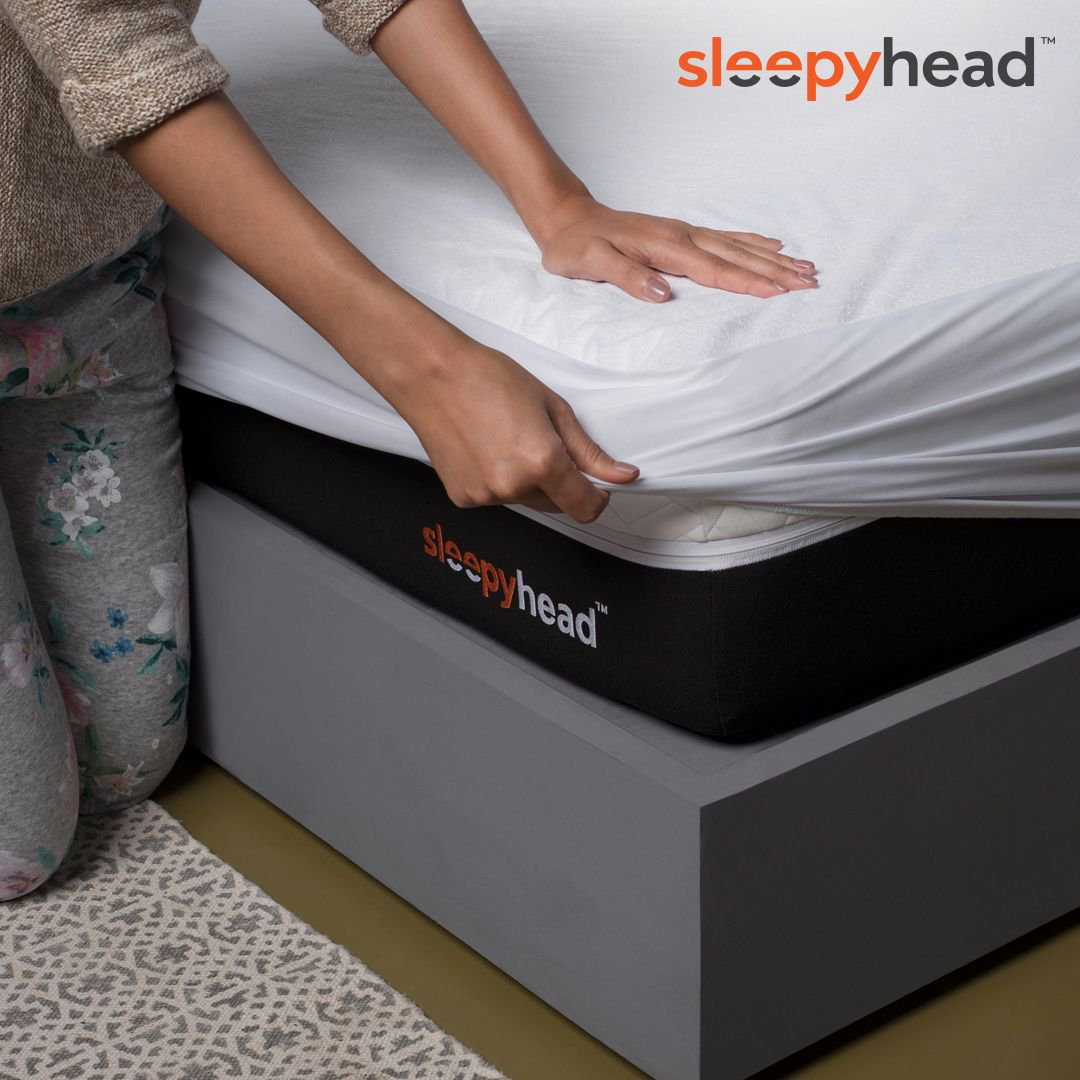 Not many know this, but a mattress protector is the most essential accessory for your mattress. The #Sleepyhead mattress protector shields you from the onslaught of bacteria, dust, and dirt. Enjoy a clean bed with the Sleepyhead mattress protector!   #MattressInABox