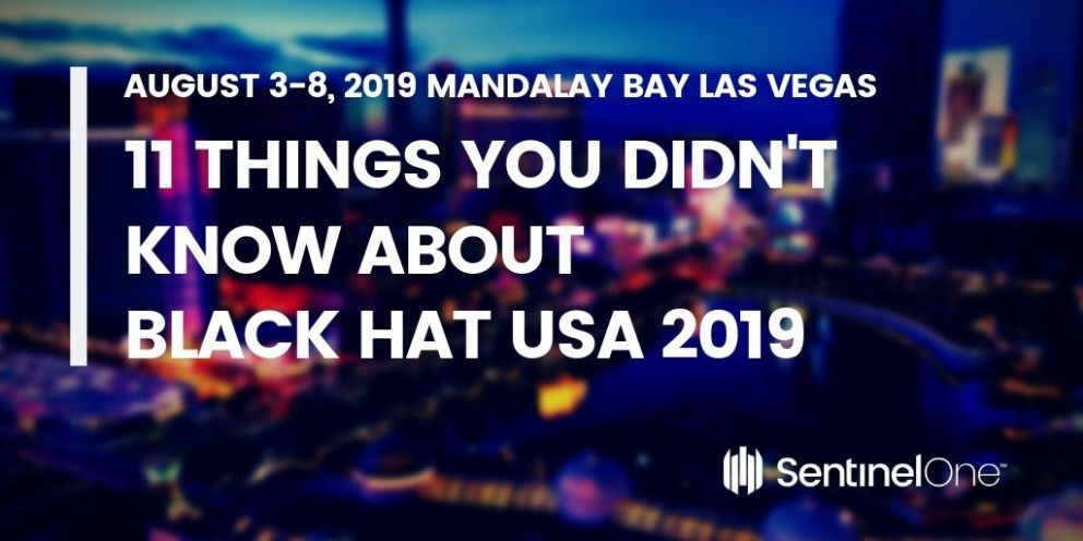 Black Hat themselves got pwned by Mozilla's Michael Coates back in 2010 when he signed up for the online streaming.  Read more https://www.sentinelone.com/blog/11-things-you-didnt-know-about-black-hat-usa-2019/ #infosec #ransomware #malware #security #hacking #cyber #exploit #Forensics
