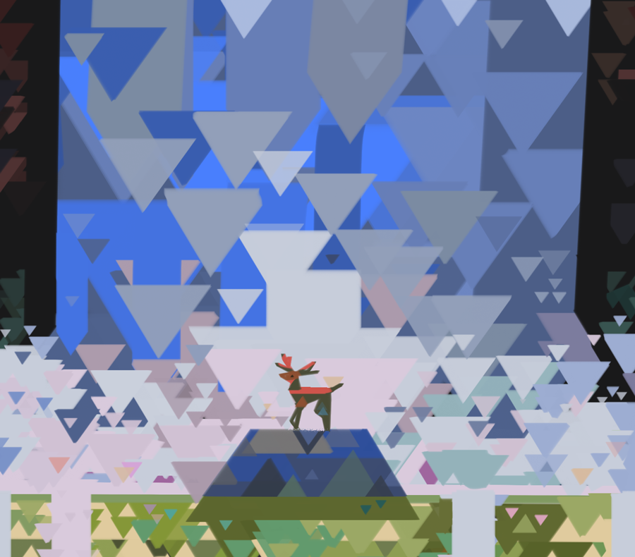 triangles brush pt 2