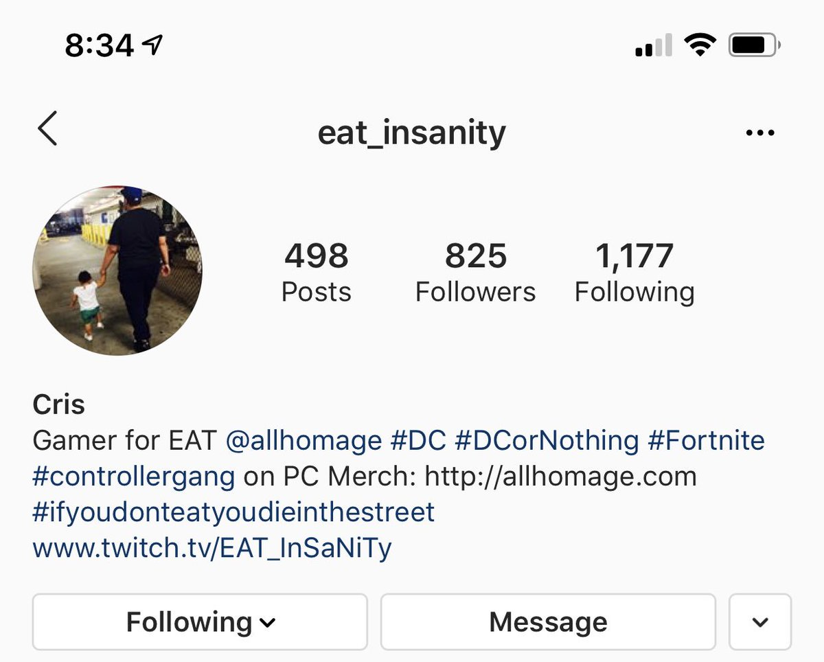 FOR ALL U #fortnite #fortnitepc LOVERS FOLLOW MY GAMER MATE WITH #EATGAMINGWORLD @eat_insanity TO 1k FOLLOWERS ON @instagram THIS JUST THE BEGINNING OF A GREAT MOVEMENT 🙏🏾🤘🏾💪🏾