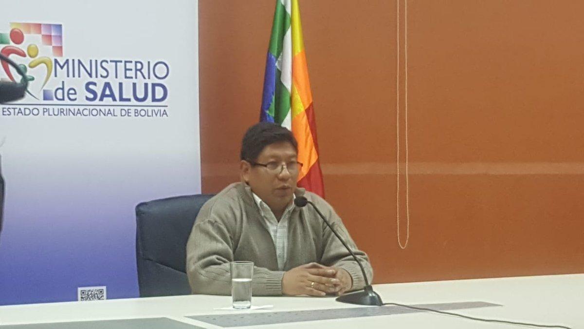 El Jefe de Epidemiología del @MinSaludBolivia, Jemis Molina, informó sobre el deceso de una paciente proveniente del municipio #PalosBlancos del departamento de #LaPaz y que probablemente fallecio a causa de #Hantavirus.