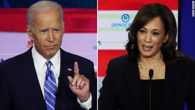 After sparring in June, Joe Biden and Kamala Harris will share a debate stage again at CNN's Democratic debates in July. Here's who else will face off. https://cnn.it/2LtlQfI