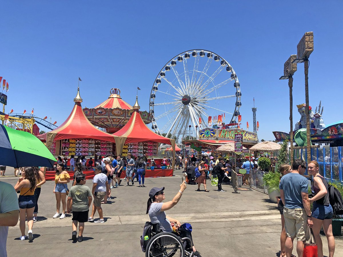 Weekends = Best Deal EVER! From 11 am - 1pm On Sat & Sun get half price gen. admission & carnival rides are half the tickets to ride.