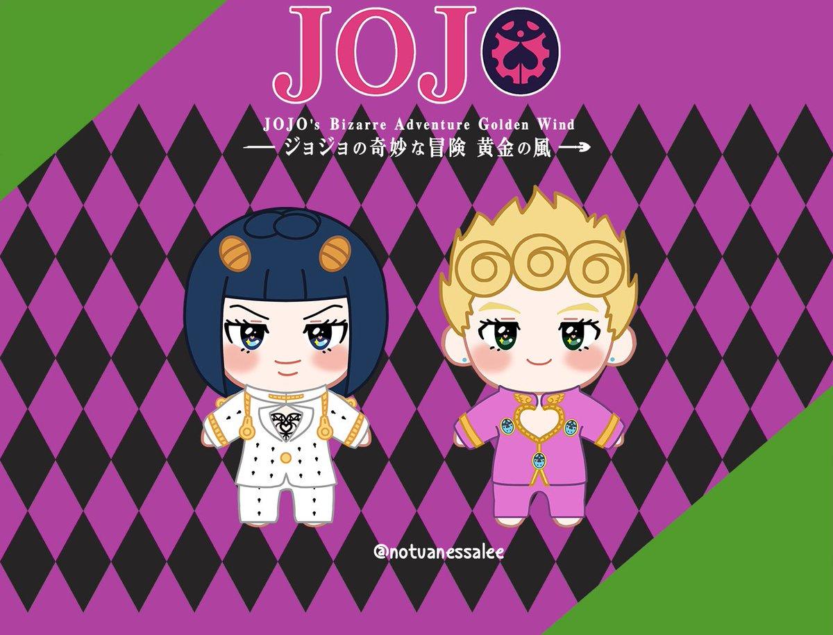 [CAN/USA] #JOJO #JJBA #ジョジョ   ⭐️ 20 cm #BruGio dolls by @JojoDolls   -  1 PAIR: 45 USD - Details: 2 dolls + 1 outfit each (clothes removable)  Form: http://bit.ly/2YDM95y Closes: 11/17  #BrunoBucciarati #giornogiovanna