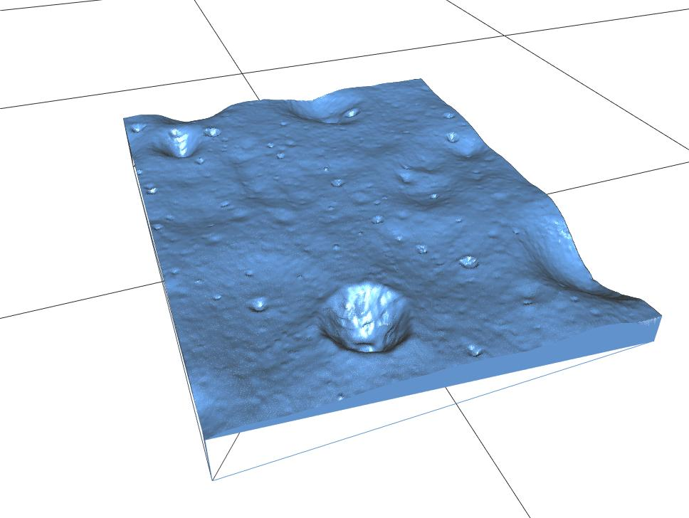 Touch the Moon! 🌑 Experience the #Apollo11 Moon landing without seeing it. Download 3-D printable @NASAMoon orbiter topography data so you can feel the lunar surface. Celebrate the #Apollo50th anniversary in an accessible, tactile way: go.nasa.gov/2LYT2ek